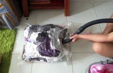 What are the best folding process in vacuum bags?